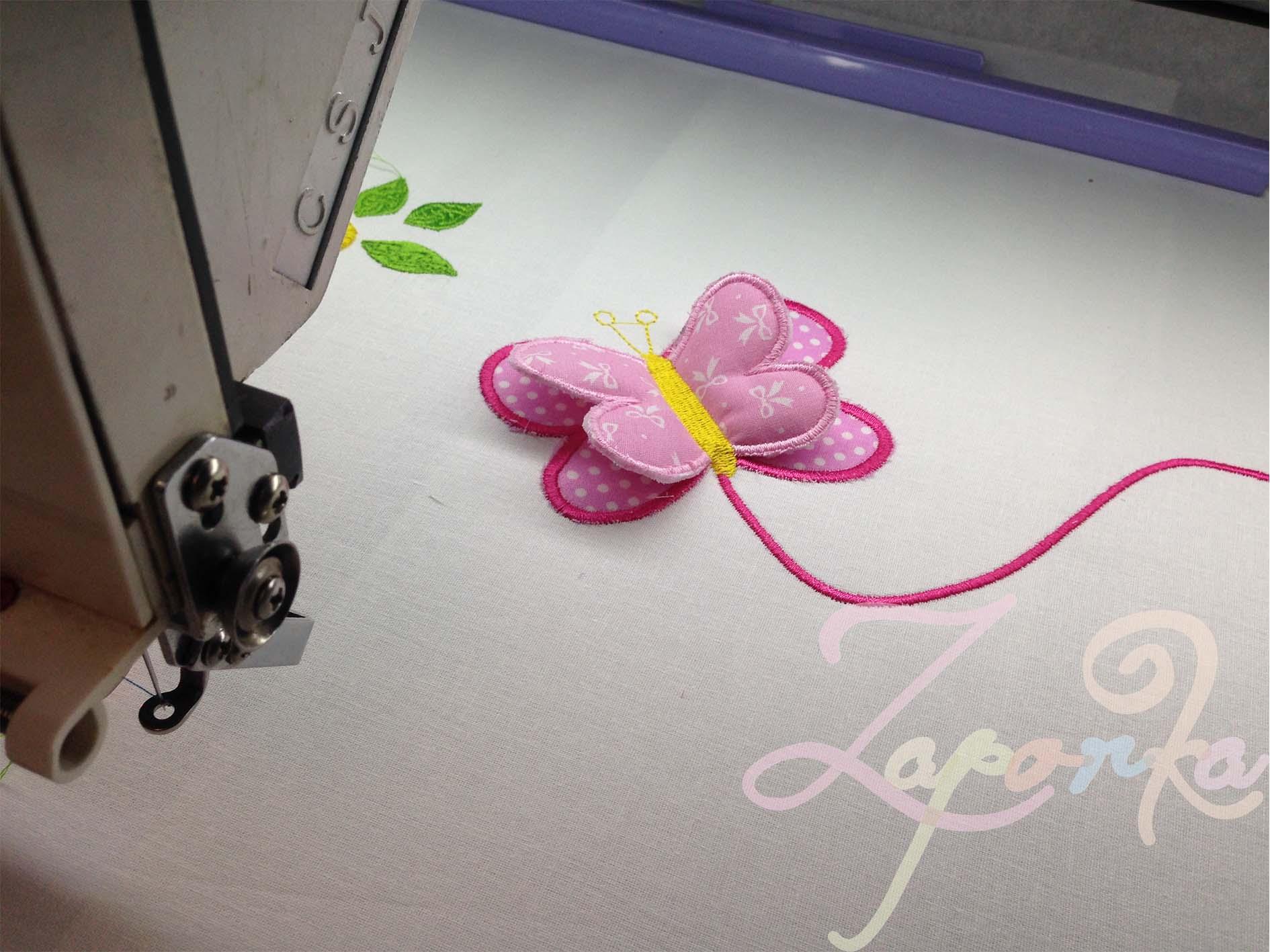 3D hímzés